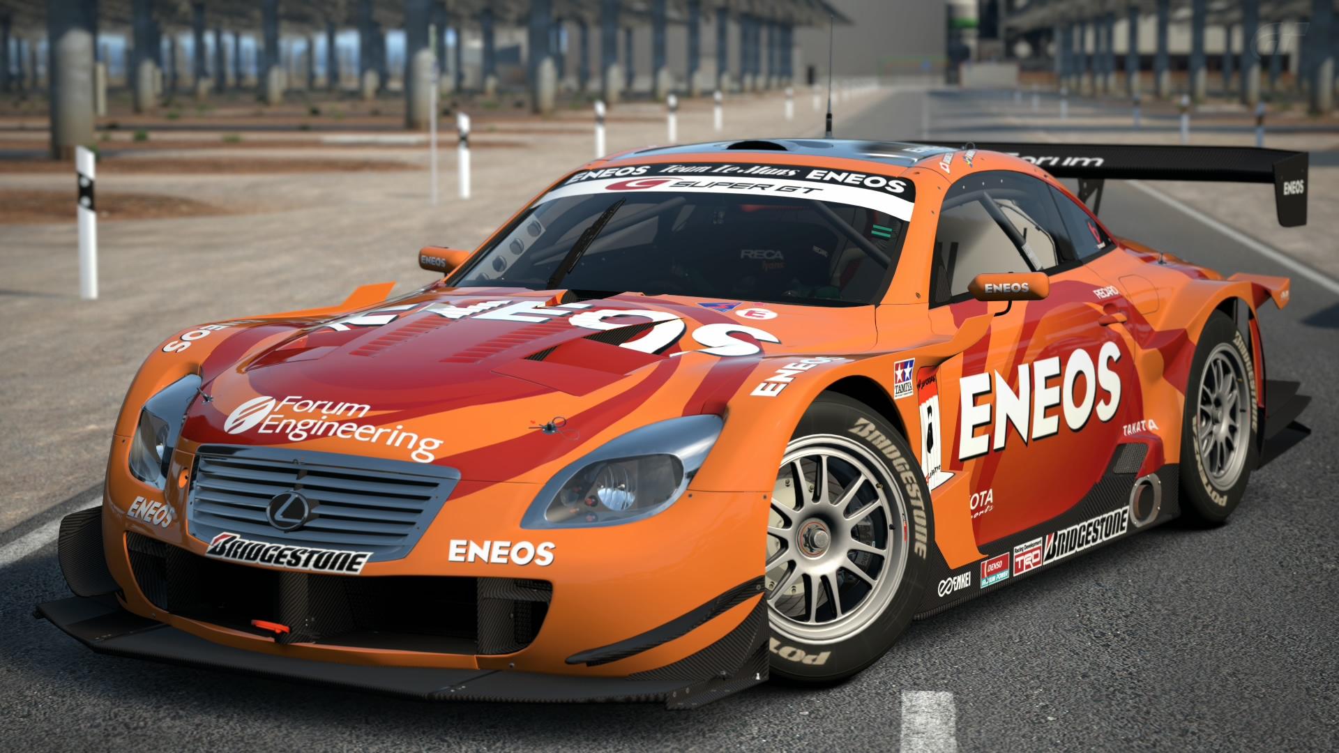 Lexus ENEOS SC430 SUPER GT 08  Gran Turismo Wiki  FANDOM