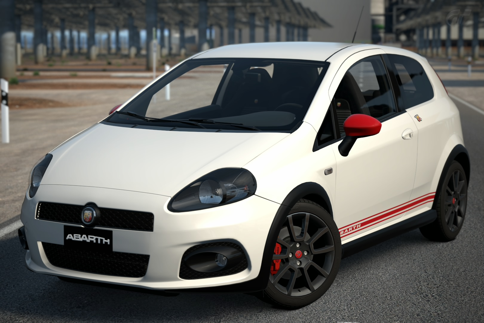 abarth grande punto 39 09 gran turismo wiki fandom. Black Bedroom Furniture Sets. Home Design Ideas