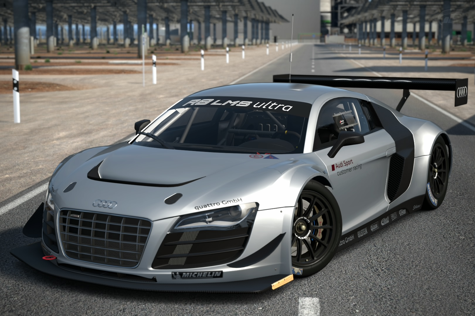 audi r8 lms ultra 39 12 gran turismo wiki fandom powered by wikia. Black Bedroom Furniture Sets. Home Design Ideas