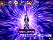 Purple lightning 1