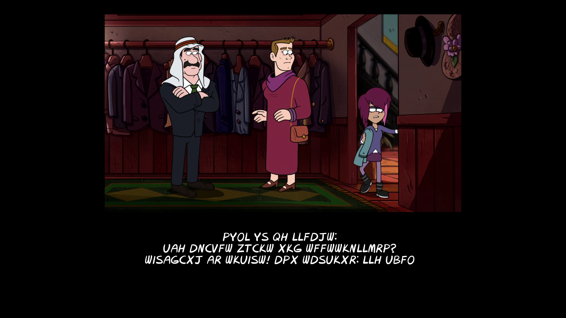 「gravity falls end of credits Northwest Mansion Mystery」の画像検索結果