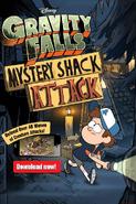 Mystery Shack Attack ad