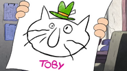 Short11 toby determined caticature