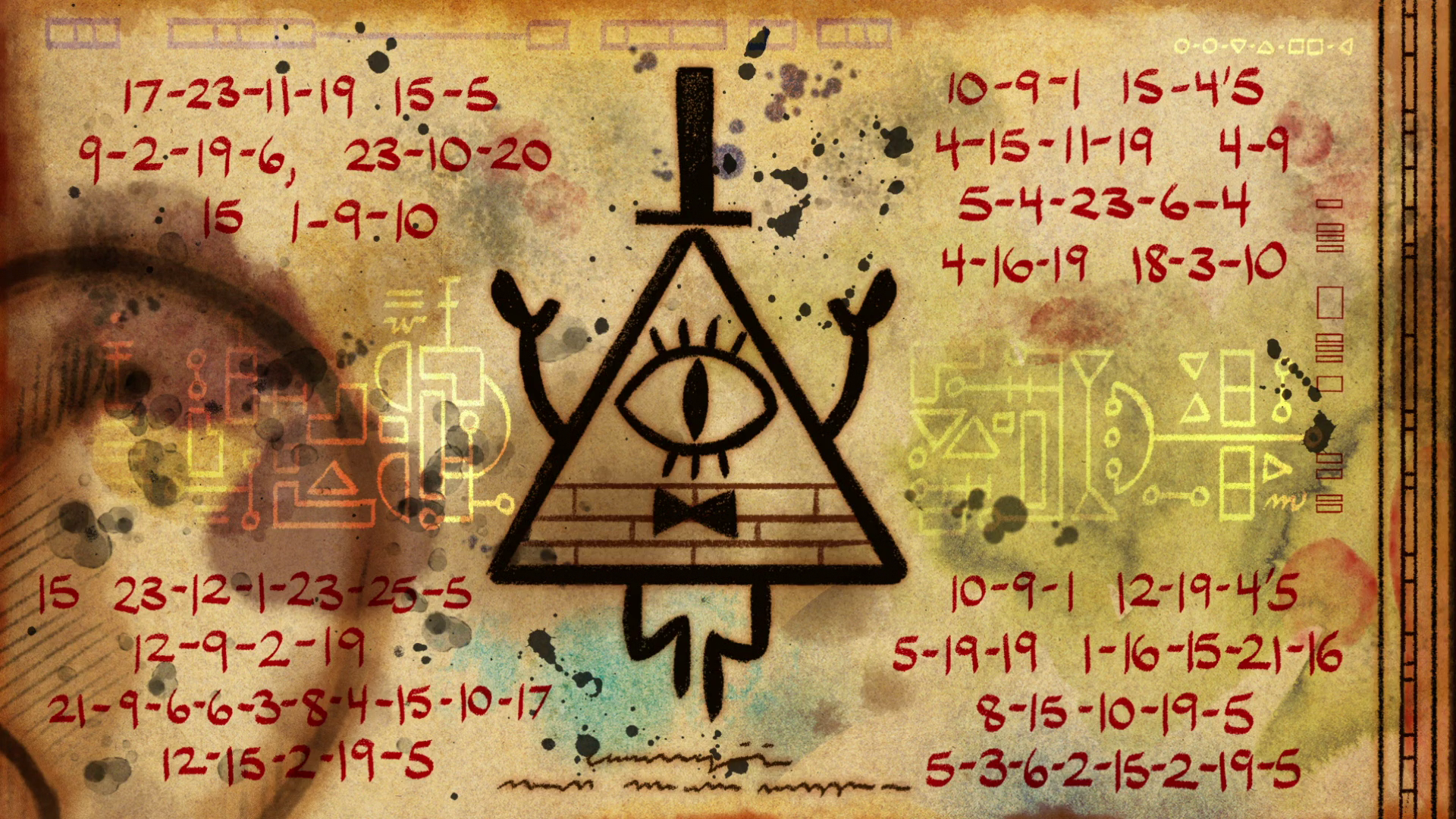 "「gravity falls end of credits Weirdmageddon Part 1""」の画像検索結果"