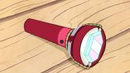 S1e11 flashlight on ground