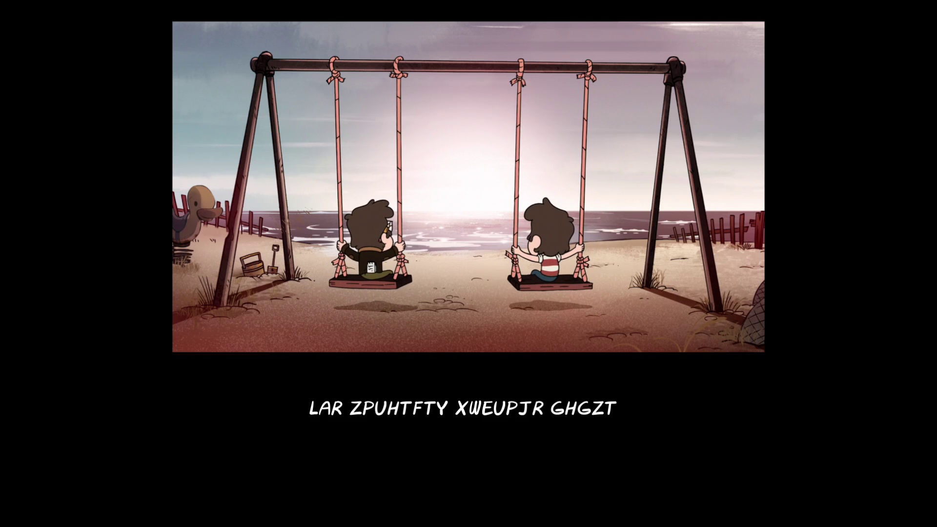 """「gravity falls end of credits """"Not What He Seems""""」の画像検索結果"""