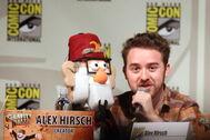 Alex Hirsch with Grunkle Stan Puppet.jpg