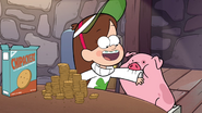 S1e10 waddles eating mabel's sweater