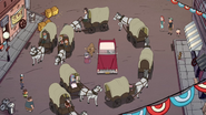 S1e8 circled wagons