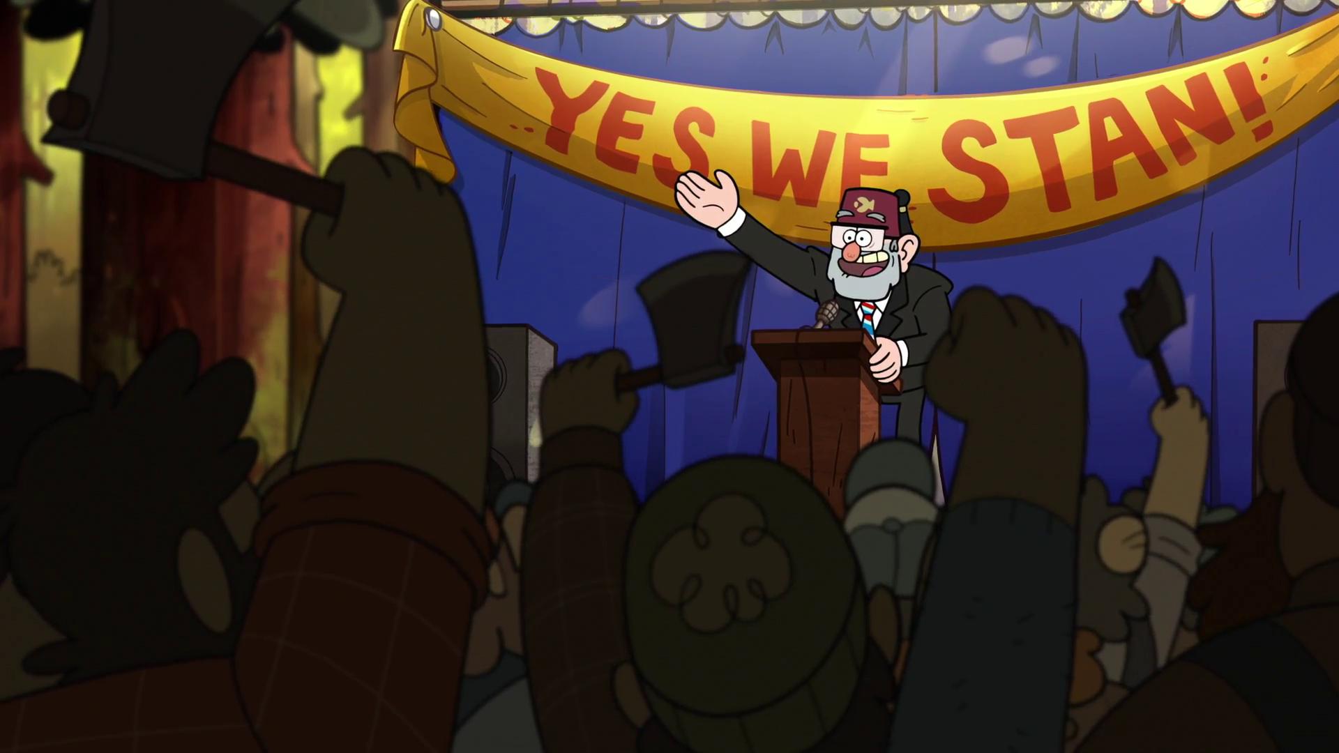 The Stanchurian Candidate Gravity Falls Wiki Fandom