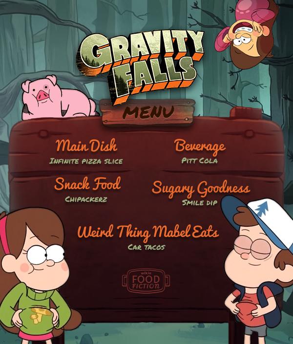 FF Gravity Falls Menu R1