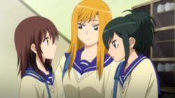 Natsumi tells Kana about the rumor