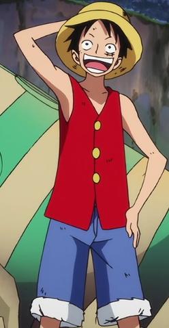 File:Monkey D. Luffy Anime Pre Timeskip Infobox.png