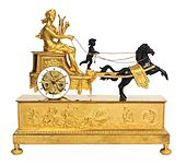 Chariot clock Apollo