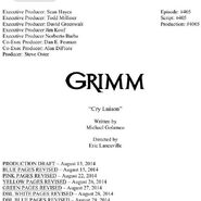 405 Script Cover