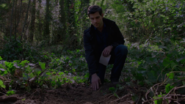 508-Nick at his mother's burial site