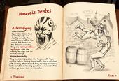 Mauvais Dentes in book