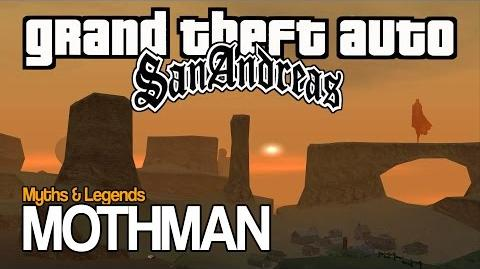 GTA SA Myths & Legends MOTHMAN
