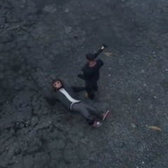 Pedestrian from GTA V dead