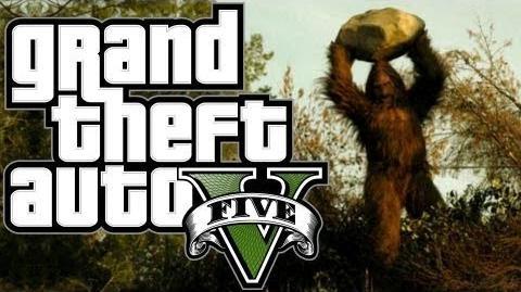 GTA V Myths & Legends - Bigfoot The Truth HD-0