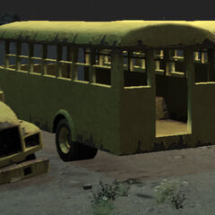 A bus wreck in GTA IV.