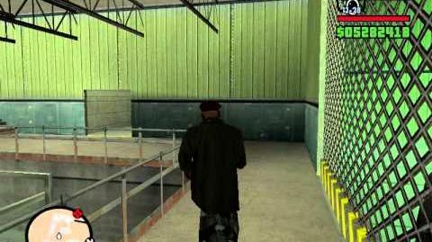 Grand Theft Auto San Andreas Area 69 (Area 51) Inside Tour