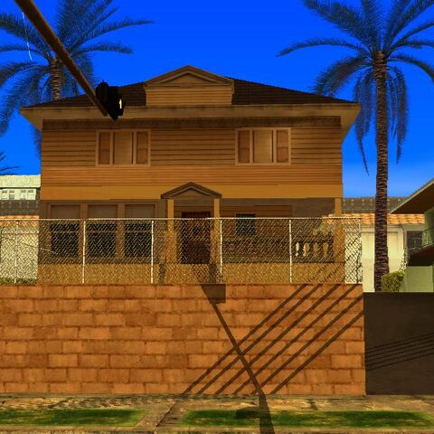 A house in San Andreas that looks similar to Michael Myers' house.