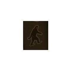 Bigfoot sticker.
