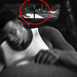 Slenderman sighting in GTA V (most likely false)
