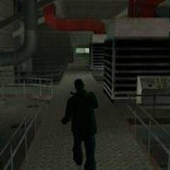 Walking inside Area 69.