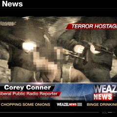 A terror hostage.