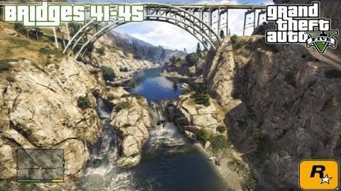 GTA5 Under The Bridges 41-45 (Aerial Challenges) Tutorial Grand Theft Auto V PS3 Xbox 360 ᴴᴰ