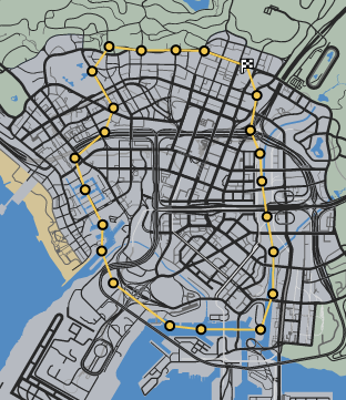Flying Low GTAO Race Map