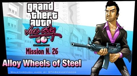 GTA Vice City - iPad Walkthrough - Mission 26 - Alloy Wheels of Steel