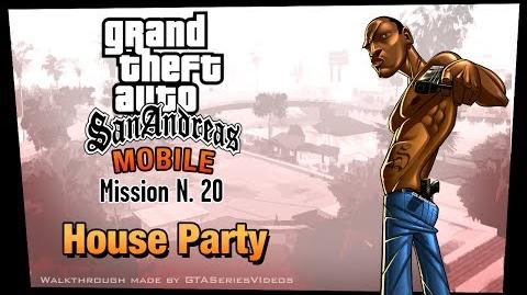 GTA San Andreas - iPad Walkthrough - Mission 20 - House Party (HD)