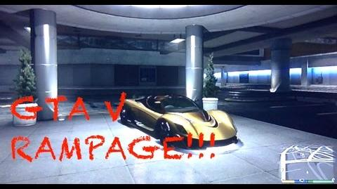 GTA V Rampage (PS4) - HOW LONG WILL YOU LAST!???