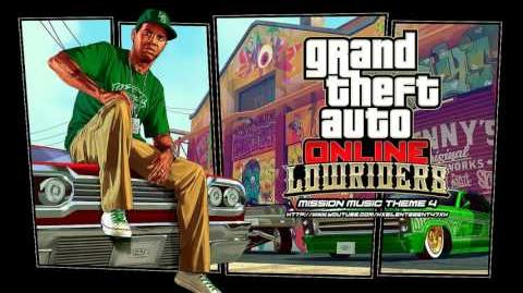 Grand Theft Auto GTA Online Lowriders - Mission Music Theme 4