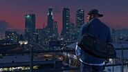 Official PC Screenshot GTAV Facebook Franklin City