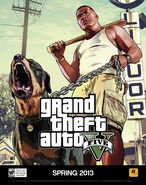 GTA V Franklin and Chop