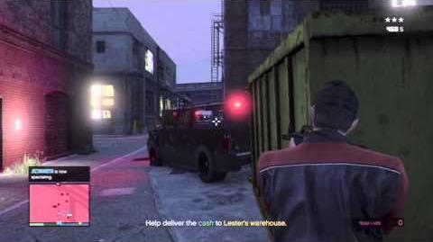 GTA5 Online - Lester Crest Mission, Crime Scenester