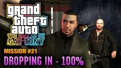GTA The Ballad of Gay Tony - Mission 21 - Dropping In 100% (1080p)