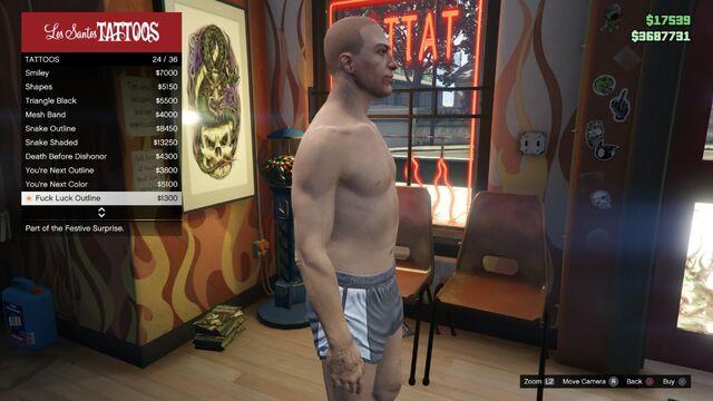 File:Tattoo GTAV Online Male Right Arm Fuck Luck outline.jpg