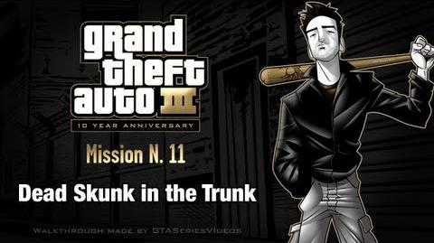 GTA 3 - iPad Walkthrough - Mission 11 - Dead Skunk in the Trunk