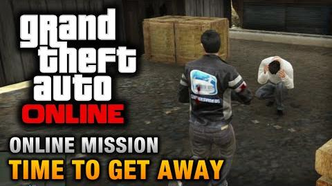 GTA Online - Mission - Time to Get Away Hard Difficulty