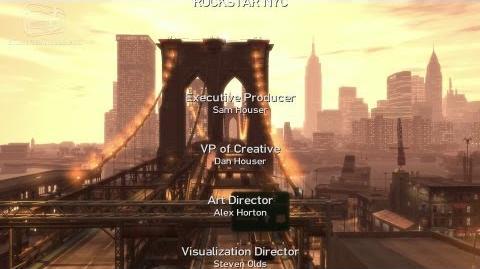 GTA 4 - End Credits (1080p)
