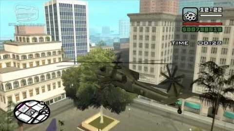 GTA San Andreas - Walkthrough - Air Race - Heli Hell (HD)