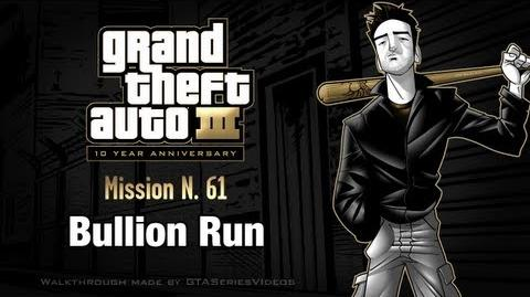 GTA 3 - iPad Walkthrough - Mission 61 - Bullion Run
