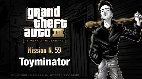 GTA 3 - iPad Walkthrough - Mission 59 - Toyminator