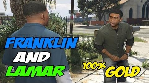 Franklin and Lamar - GTA 5 100 % Gold