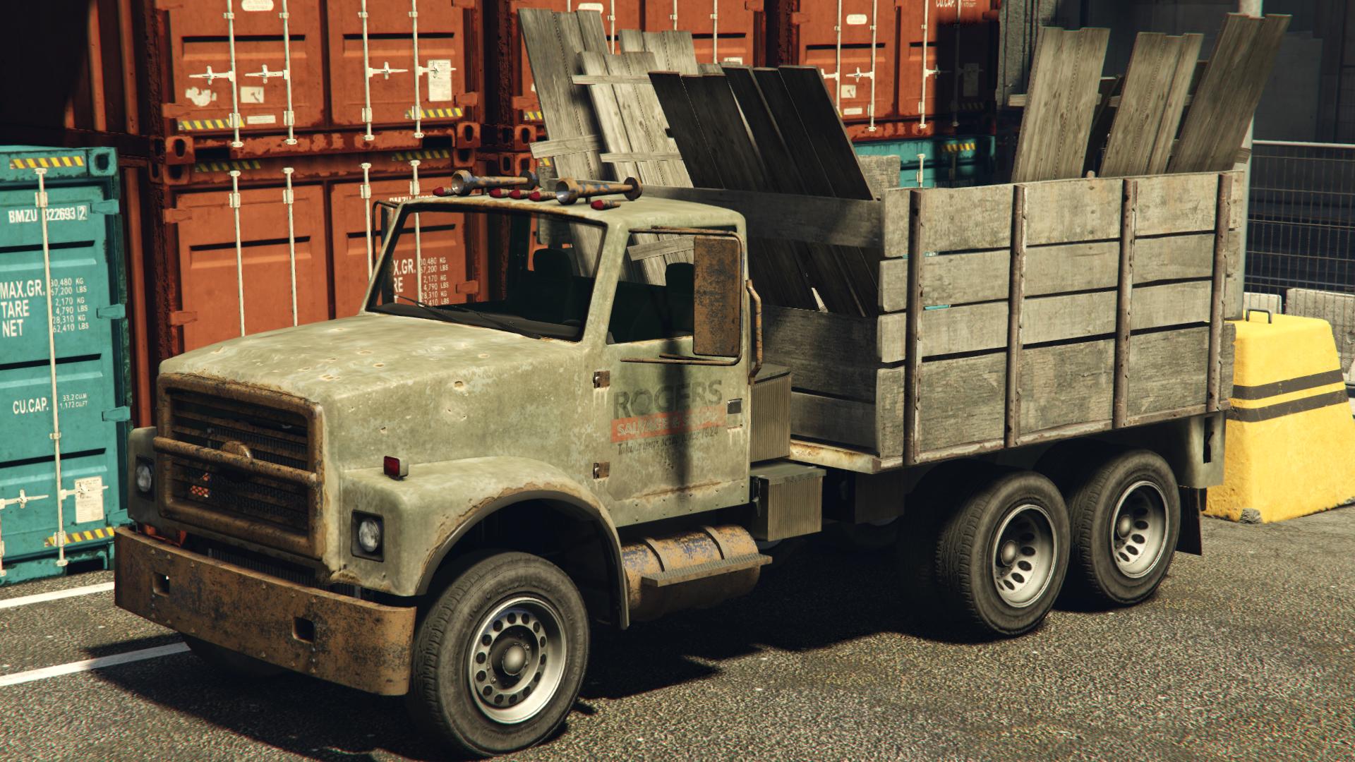 scrap truck gta wiki fandom powered by wikia